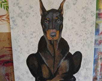 Doberman I got this