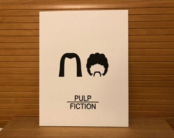 Pulp Fiction - Laser Cut