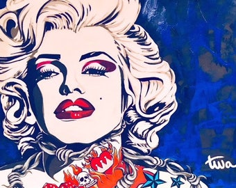 Marilyn Monroe Original Painting