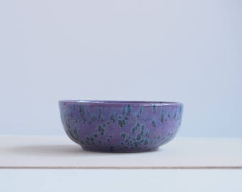 Small ceramic bowl, violet bowl, purple bowl, decorative ceramic bowl, handmade ceramic pottery, housewarming gifts, gift for her, for girl