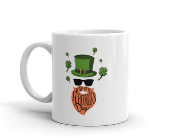 Saint Patrick's Day Mug. Happy st. Patrick's day.