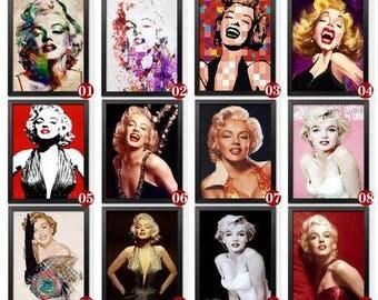 5D Diamond Mosaic Diy Diamond Embroidery Marilyn Monroe 3d Square Paste Full Cross Stitch Kit Diy Diamond Painting