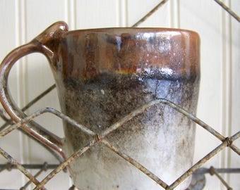 Handmade Pottery Mug Coffee Mug  Wheelthrown Gray Brown Mug Wheel Thrown Mug Pottery Mug Handmade Pottery Mug Ceramic Coffee Mug Natural