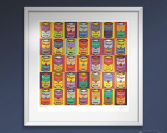 Glasgow Soup. Large framed.