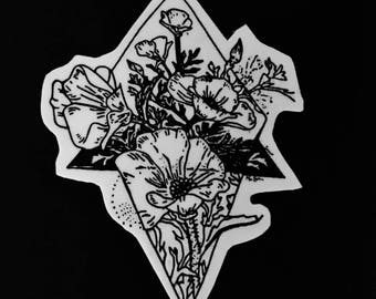 Flower 1 Sticker