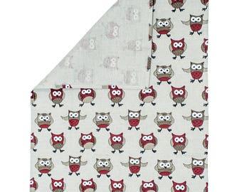 Tea Towel Owl Design