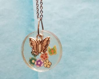 Butterflies necklace - Let's fly like the Butterflies