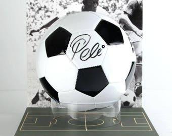 Autographed Soccer Ball (Pele)