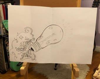 Bulb of ideas