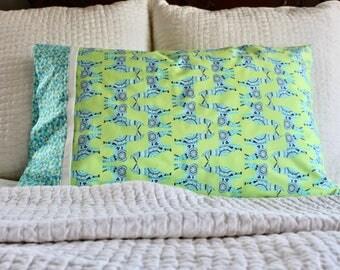 Llama pillowcase, llama pillow cover, llama gifts, llama print,  standard pillowcase, handmade pillowcase, pillowcase