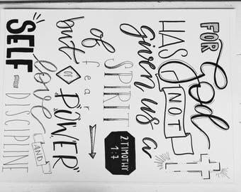 2. Timothy 1:7