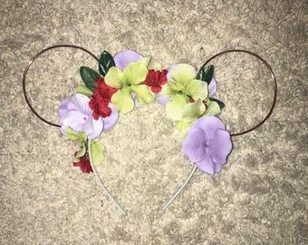 Disney Floral Ears - Ariel