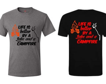 Camping Life Is Better At The Lake T-Shirt