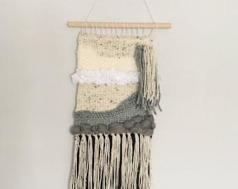 Handwoven Wall Hanging- Psalm 42:7, OK weaving