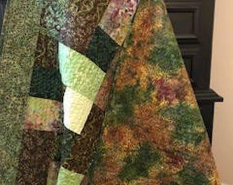 Handmade Batik lapquilt