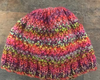 Adult, Multicolor Hat