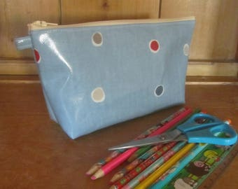 Handmade Oilcloth Pencil Case