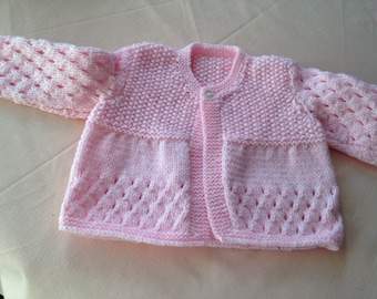 Matinee coat for baby 0-3 months ( First size)