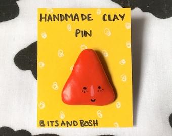 cute triangle pin