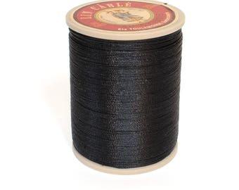 Sajou Waxed  Linen Thread: Black