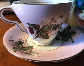 Bone China tea cup and saucer, Taylor Kent, London, England
