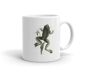 Hop To It Frog Mug made in the USA