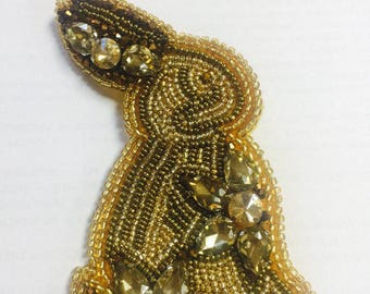 "Brooch ""Rabbit"""
