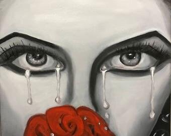 Betrayal- Oil on Canvas