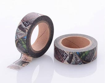 Travel Washi Tape - 15mm x 10 Meters - #SW119