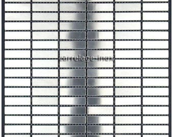 Mosaic stainless steel Rectangular 48