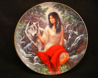 Faithful Companion Plate / By RUSS DOCKEN Bradford Exchange - Fourth Issue