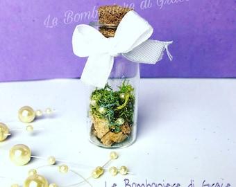 Small bottle for wedding