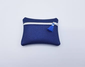Chic faux leather wallet