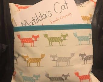 Foxy Fabric Reading Cushion