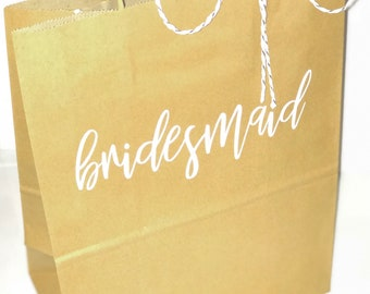 Personalized bridal gifts bags!