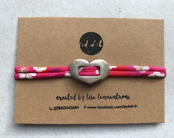Pink Liberty of London extendable bracelet
