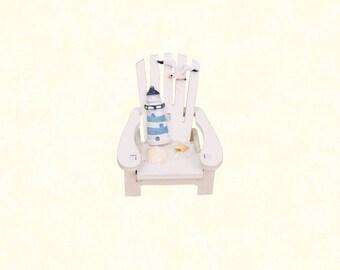 Beach Chair Cake Topper