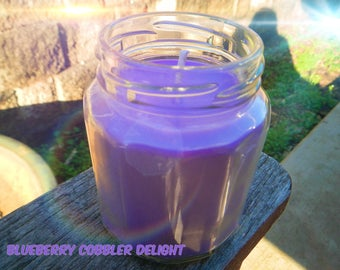 Blueberry Cobbler Soy Wax Candle