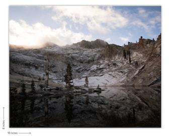 Alpine wonders. Sequoia National Park.