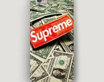 Money iPhone 6 Case, Dollars iPhone 5S Case, iPhone X Case, Galaxy S7 Case, iPhone 7 Plus Cover, Supreme Case, Supreme iPhone 8 Case
