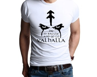 T-shirt Vikings. Valhalla. Floki by the Vikings. 100% cotton. Floki t shirt