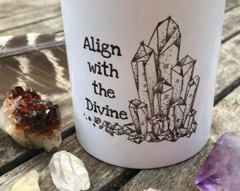 Align with the Divine Mug