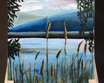 Sea of Galilee | Beautiful Canaan Views | Hand Painted Art