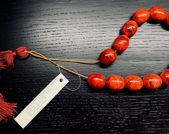 Old Giant Bakelite Komboloi / Worry Beads