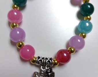 Colorful Crystal beaded Bracelet