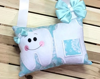 Personalized Tooth Fairy Pillow-W0001