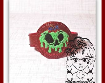 POiSON APPLe Evil WRiSTBaND ArM CaNDY Snap Tab 4 Holidays Birthday ~ In the Hoop ~ Downloadable DiGiTaL Machine Embroidery Design by Carrie