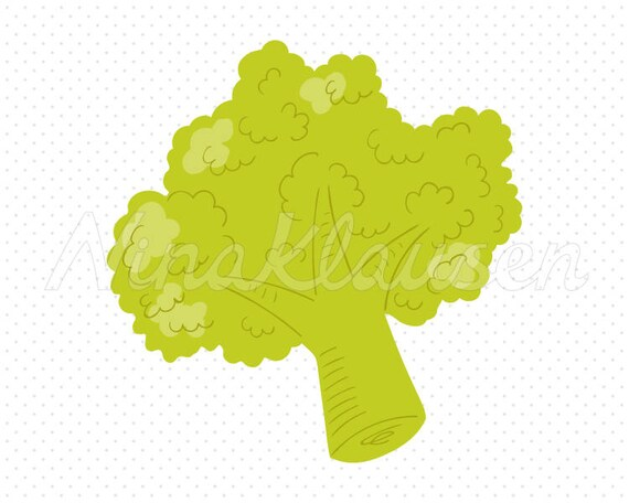 Broccoli Clipart for Commercial Use - 0010