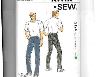 Kwik Sew Men's Jeans Pattern 2124