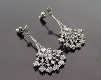 Art Deco Style Earrings, Valentine
